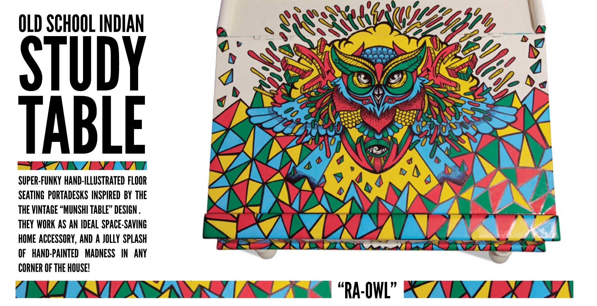 Ra Owl – Munshi Table
