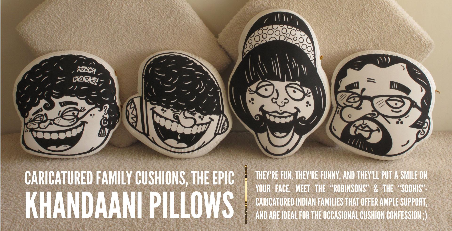 Khaandani Pillow
