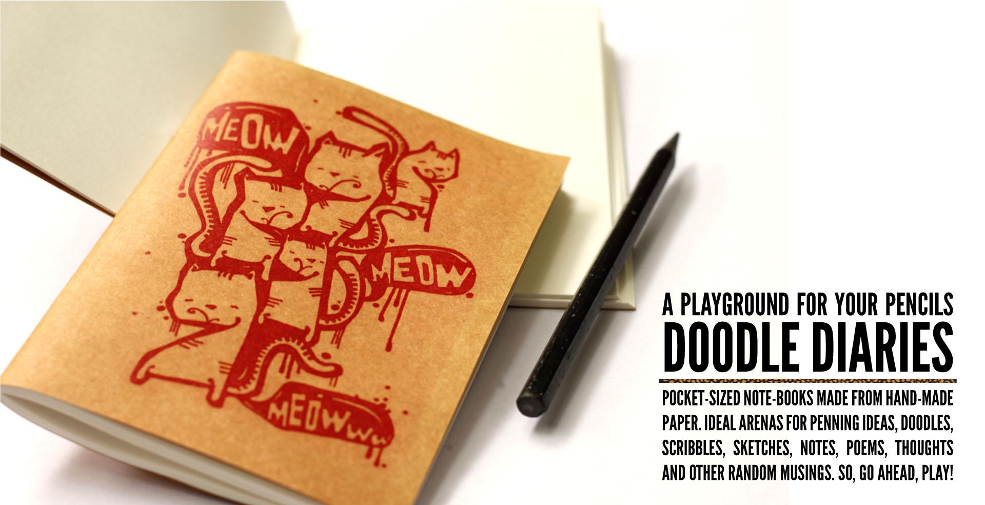 Doodle Diaries – Pencil Playgrounds