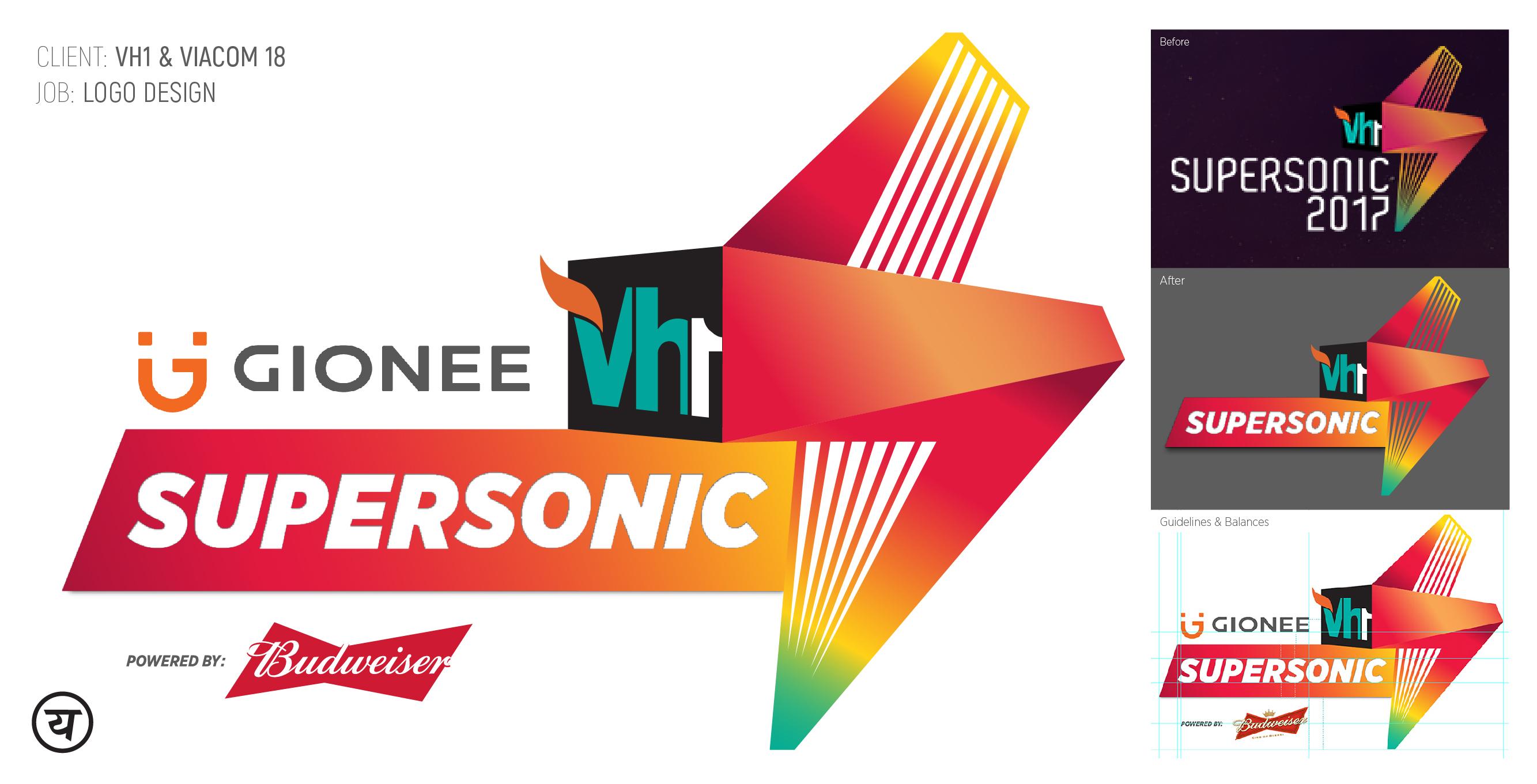 YesYesWhyNot_Communication Design_Vh1 SuperSonic Logo