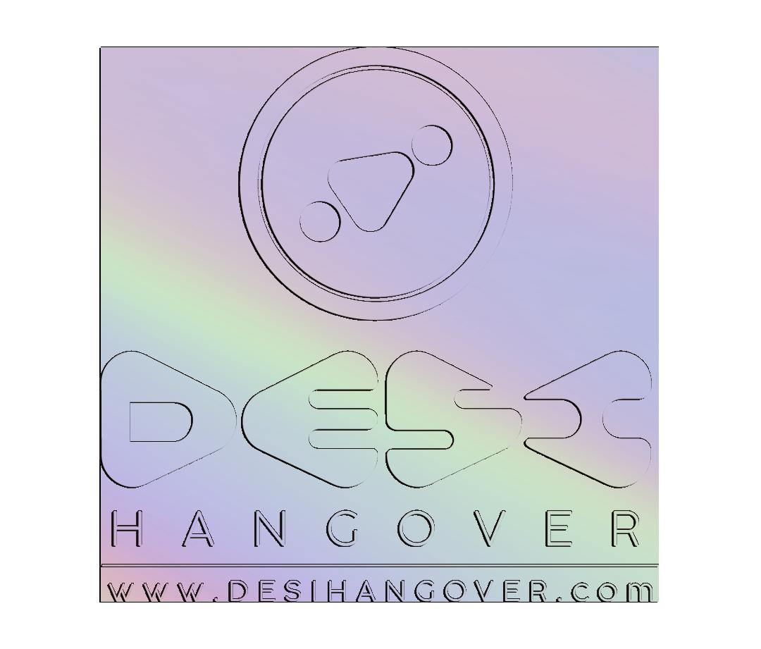 DesiHangover_Iridiscent Stacked Logo